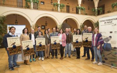 Hacienda Montija acoge el primer curso de iniciación de las catas de aceite formativas.