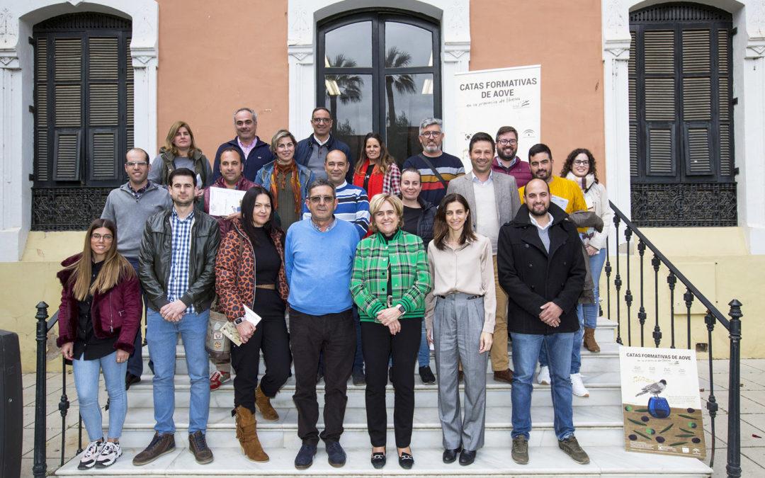 Huelva acoge un curso avanzado de cata de aceite organizado por Cooperativas Agro-Alimentarias